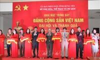 """Triển lãm """"Đảng Cộng sản Việt Nam - Đại hội và thành quả"""""""