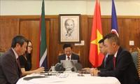 Đảng Cộng sản Việt Nam tăng cường hợp tác với Đảng Cộng sản Nam Phi
