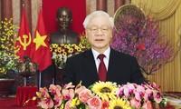 Tổng Bí thư, Chủ tịch nước Nguyễn Phú Trọng chúc Tết Tân Sửu 2021
