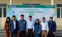 Kiều bào Đức tặng cây xanh bảo vệ môi trường tại Thanh Hóa