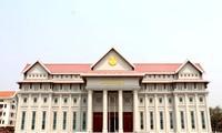 Việt Nam bàn giao công trình Nhà Quốc hội mới cho Lào