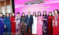 Các nữ đại biểu tham gia ngày càng tích cực vào các hoạt động của Quốc hội