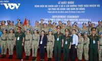 Lễ xuất quân Bệnh viện dã chiến cấp 2 số 3 làm nhiệm vụ tại Nam Sudan
