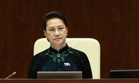 Quốc hội phê chuẩn việc miễn nhiệm Chủ tịch Quốc hội khóa XIV, Chủ tịch Hội đồng bầu cử quốc gia