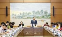 Chủ tịch Quốc hội Vương Đình Huệ làm việc với Ủy ban Về các vấn đề xã hội; Ủy ban Pháp luật của Quốc hội