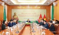 Thông báo kết quả Đại hội đại biểu toàn quốc lần thứ XIII của Đảng Cộng sản Việt Nam tới Đảng Cộng sản Nhật Bản