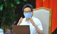 Họp Ban chỉ đạo quốc gia: Tiếp tục thực hiện khống chế dịch tại tỉnh Bắc Ninh và tỉnh Bắc Giang