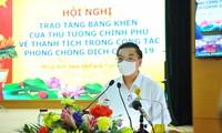 Trao Bằng khen của Thủ tướng Chính phủ cho tập thể, cá nhân huyện Đông Anh trong công tác phòng chống dịch