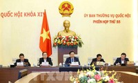 Ủy ban thường vụ Quốc hội khóa XIV họp Phiên họp thứ 56