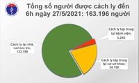Sáng 27/5, có thêm 24 ca mắc COVID-19 trong nước ở Bắc Giang, Lạng Sơn