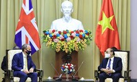 Việt Nam - Vương quốc Anh tăng cường hợp tác trên nhiều lĩnh vực