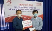 Chung tay ủng hộ lực lượng phòng chống dịch ở Thành phố Hồ Chí Minh