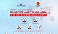 Kết nối người Việt Nam ở nước ngoài hỗ trợ cho khởi nghiệp đổi mới sáng tạo