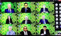 Các nhà lãnh đạo APEC nhất trí tăng cường năng lực sản xuất và cung ứng vaccine ngừa COVID-19