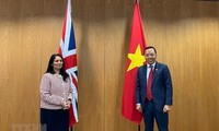 Việt Nam, Anh thúc đẩy hợp tác toàn diện, hiệu quả trong lĩnh vực an ninh, nội vụ