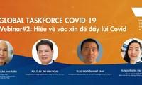 Sẽ diễn ra hội thảo trực tuyến 'Hiểu về vaccine để đẩy lùi Covid'