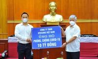 Ủy ban Trung ương Mặt trận Tổ quốc Việt Nam hỗ trợ 1,7 triệu suất ăn cho các tỉnh, thành phố phía Nam