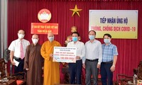 Ủy ban Trung ương Mặt trận Tổ quốc Việt Nam vận động các tôn giáo tiếp tục tham gia phòng, chống dịch