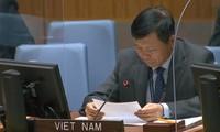 Việt Nam cùng cộng đồng quốc tế phấn đấu xóa bỏ hoàn toàn vũ khí hạt nhân