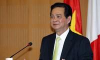 Пресс-релиз о предстоящих визитах премьера СРВ Нгуен Тан Зунга в некоторые страны