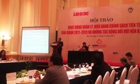 В Ханое прошел семинар о валютной политике в период 2011-2015 гг.