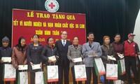 Глава Отечественного фронта Вьетнама вручил новогодние подарки в провинции Намдинь