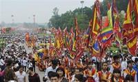 Во Вьетнаме зажжены благовония в память о королях Хунгах