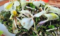 Вкусные блюда из цветов баухинии