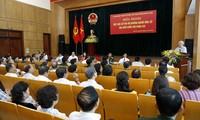 Нгуен Фу Чонг встретился с ханойскими избирателями