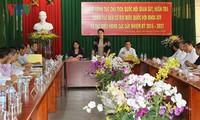 Нгуен Тхи Ким Нган проверила в провинции Анзянг подготовку к предстоящим выборам