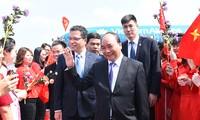 Премьер-министр Нгуен Суан Фук прибыл в Пекин, начав официальный визит в Китай