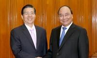 Премьер-министр Нгуен Суан Фук принял министра общественной безопасности Китая