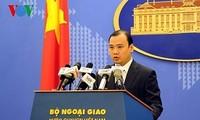 Реакция Вьетнама на присутствие военного корабля США вблизи островов Хоангша