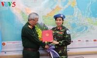 Вьетнам направил первую женщину-офицера на участие в миротворческой деятельности ООН