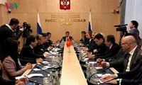 Đoàn đại biểu cấp cao Đảng Cộng sản Việt Nam thăm Liên bang Nga