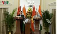 Президент Вьетнама Чан Дай Куанг провёл переговоры с премьер-министром Индии Нарендрой Моди
