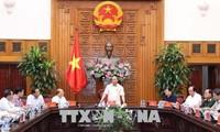 Нгуен Суан Фук совершил рабочую поездку в провинцию Биньтхуан