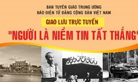 В Ханое прошла онлайн-встреча «Хо Ши Мин – победоносная вера»