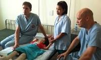 เวียดนามและสหรัฐร่วมมือในการรักษาโรคแผลพุพอง