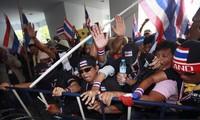 ศาลไทยออกหมายจับแกนนำกลุ่มผู้ชุมนุม