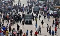 อียิปต์สนธิกำลังตำรวจรวม๒หมื่นนายเพื่อรักษาความปลอดภัยในการพิจารณาคดีนายโมฮัมเหม็ดมอร์ซี
