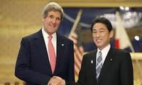 สหรัฐและญี่ปุ่นให้คำมั่นที่จะผลักดันความสัมพันธ์พันธมิตร