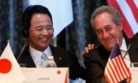 การเจรจาเกี่ยวกับความตกลงทีพีพีระหว่างสหรัฐกับญี่ปุ่นประสบความคืบหน้า
