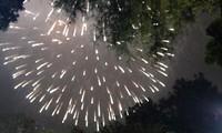 บรรยากาศกรุงฮานอยคืนส่งท้ายปีเก่าต้อนรับปีใหม่มะแม๒๐๑๕