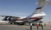 กรีซและอิหร่านอนุญาตให้รัสเซียใช้เขตน่านฟ้าสำหรับเที่ยวบินที่ขนส่งสิ่งของช่วยเหลือให้แก่ซีเรีย