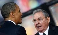 ผู้นำสหรัฐและคิวบาหารือถึงมาตรการผลักดันความสัมพันธ์