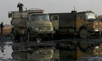 รัสเซียกล่าวหาว่า รถบรรทุกน้ำมันดิบของกลุ่มไอเอสยังคงเดินทางไปยังตุรกี