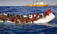 กองทัพเรือไอร์แลนด์สามารถช่วยชีวิตผู้อพยพ๓๔๗คนในทะเลเมดิเตอร์เรเนียน