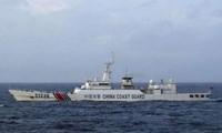 ญี่ปุ่นคัดค้านเรือจีนที่แล่นเข้าไปในเขตหมู่เกาะที่มีการพิพาท