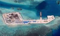 ฟิลิปปินส์กล่าวหาจีนก่อสร้างเกาะเทียม